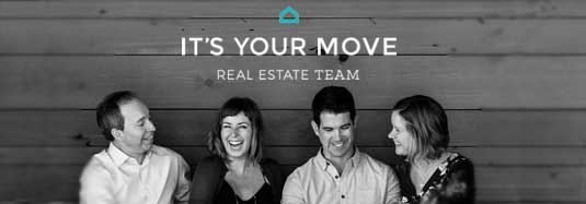 It's Your Move Real Estate team - Carlie, Glenn, Anne and Jake